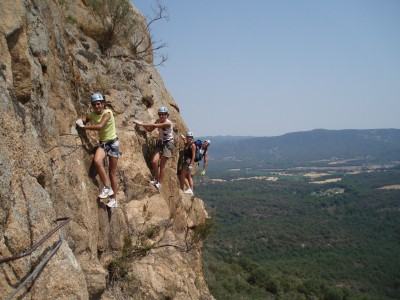 Via Ferrata Costa Brava Catalogne